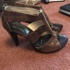 Michael Kors heels /sandals